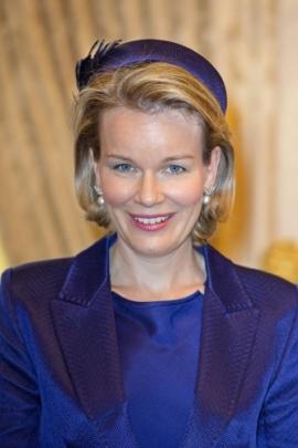 Queen Mathilde, Dec. 2, 2013| The Royal Hats Blog