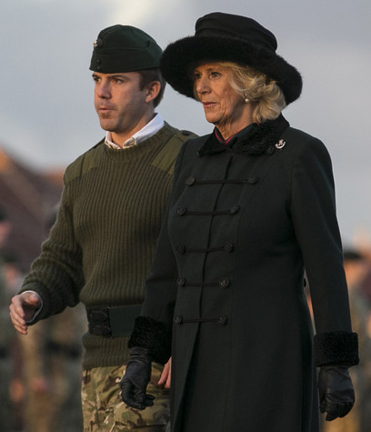 The Duchess of Cornwall, Dec. 9, 2013 | The Royal Hats Blog