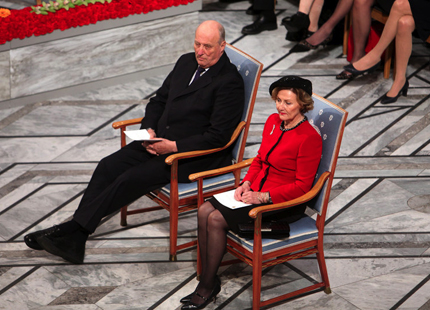 Queen Sonja, December 10, 2013 | The Royal Hats Blog