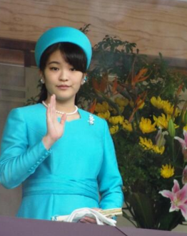 Princess Mako, December 23, 2013 | The Royal Hats Blog