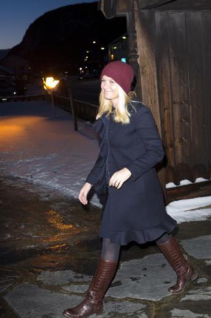 Crown Princess Mette-Marit, December 24, 2013 | The Royal Hats Blog