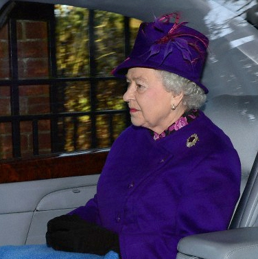 Queen Elizabeth, December 29, 2013  | The Royal Hats Blog