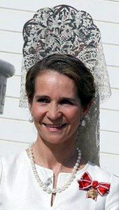Infanta Elena, May 23, 2008 | The Royal Hats Blog