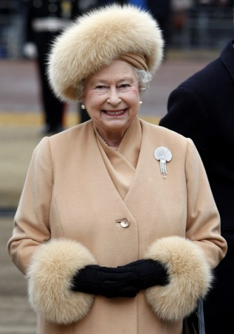 Queen Elizabeth, February 24, 2009  | The Royal Hats Blog