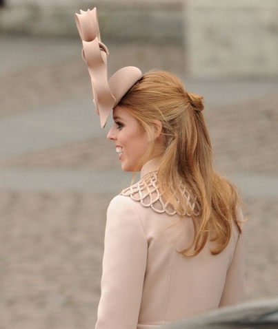 Princess Beatrice, April 29, 2011 in Philip Treacy | The Royal Hats Blog