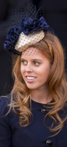 Princess Beatrice, April 15, 2012 in Gina Foster | The Royal Hats Blog