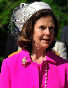 Queen Silvia, May 22, 2013 in Fabienne Delvigne | The Royal Hats Blog