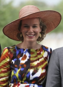 Queen Mathilde, September 6, 2013 I The Royal Hats Blog