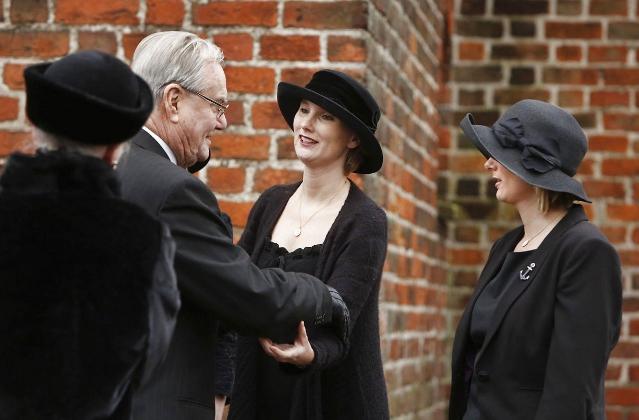 Countess Camilla, Countess Josephine and Countess Feodora, January 9, 2014 | The Royal Hats Blog