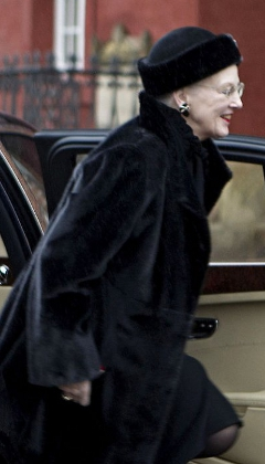Queen Margrethe, January 9, 2014 | The Royal Hats Blog