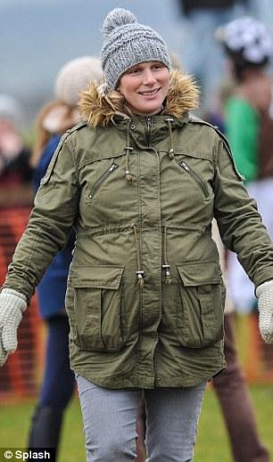 Zara Phillips Tindall, January 12, 2014 | The Royal Hats Blog