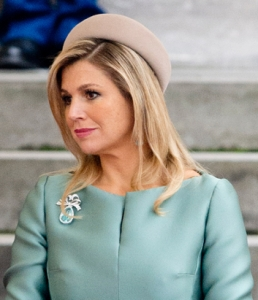 Queen Máxima, January 20, 2014 in Fabienne Delvigne| The Royal Hats Blog