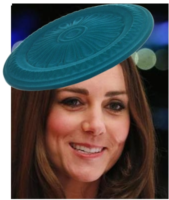 "Duchess of Cambridge in Gina Foster's ""Maplpaquet"" design"