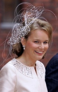 Princess Mathilde, April 30, 2006 | The Royal Hats Blog