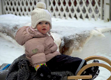 Princess Estelle, February 2, 2014 | The Royal Hats Blog