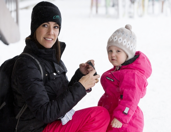 Princess Marie & Princess Athena, February 13, 2014 | The Royal Hats Blog