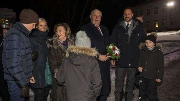Princess Ingrid and Prince Sverre, February 16, 2014 | The Royal Hats Blog