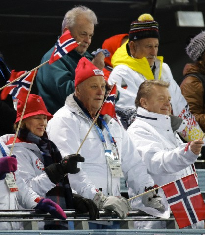 King Harald & Queen Sonja, February 17, 2014 | The Royal Hats Blog