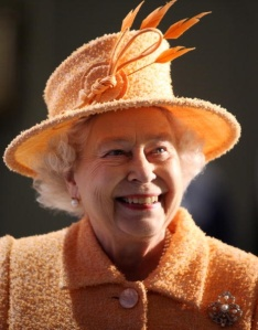 Queen Elizabeth, November 19, 2009 in Rachel Trevor Morgan | The Royal Hats Blog