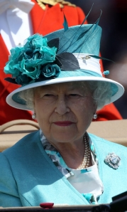 Queen Elizabeth, June 15, 2010 in Rachel Trevor Morgan | The Royal Hats Blog