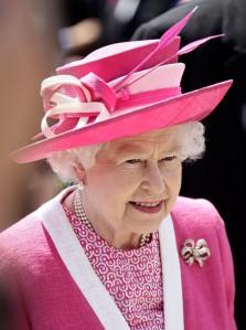 Queen Elizabeth, June 3, 2011 in Rachel Trevor Morgan | The Royal Hats Blog