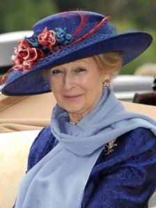 Princess Alexandra, June 2011 in Rachel Trevor Morgan | The Royal Hats Blog
