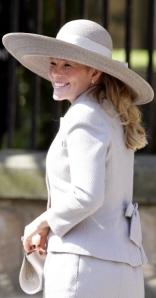 Autumn Phillips, July 30, 2011 in Rachel Trevor Morgan | The Royal Hats Blog