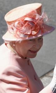 Queen Elizabeth, July 30, 2011 in Rachel Trevor Morgan | The Royal Hats Blog