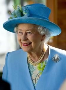 Queen Elizabeth, March 29, 2012 in Rachel Trevor Morgan | The Royal Hats Blog