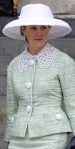 Viscountess Linley, June 5, 2012 in Rachel Trevor Morgan | The Royal Hats Blog