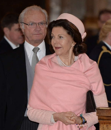Queen Silvia, March 2, 2014 | The Royal Hats Blog