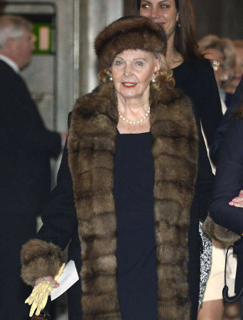 Countess Marianne Burnadotte of Wisborg, March 2, 2014 | The Royal Hats Blog