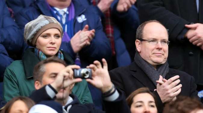 Princess Charlene, March 8, 2014 | The Royal Hats Blog