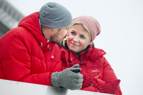 Prince Haakon and Princess Mette Marit, March 9, 2014 | The Royal Hats Blog