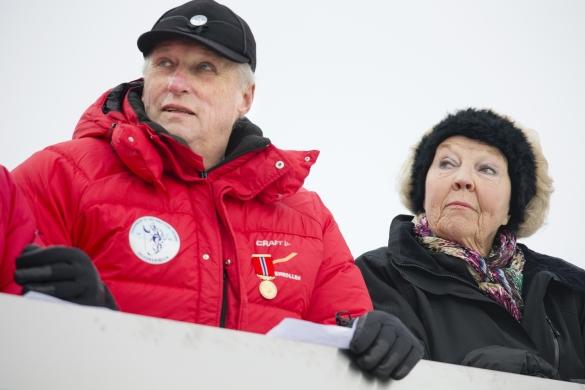 King Herald and Princess Beatrix, March 9, 2014 | The Royal Hats Blog