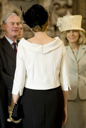 Queen Mathilde, March 13, 2014 in Fabienne Delvigne | The Royal Hats Blog