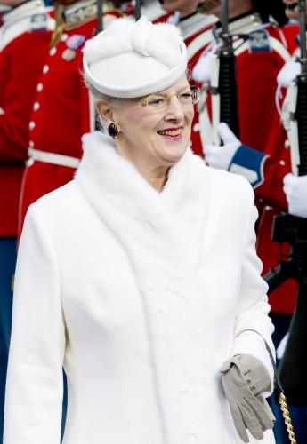 Queen Margrethe, March 17, 2014 | The Royal Hats Blog