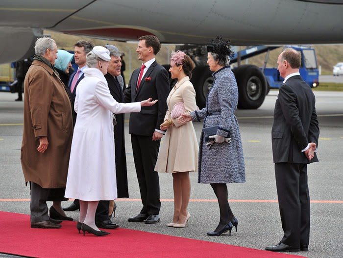 Danish Royal Family, March 17, 2014 | The Royal Hats Blog
