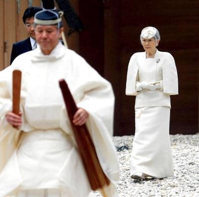 Empress Michiko, March 26, 2014 | The Royal Hats Blog