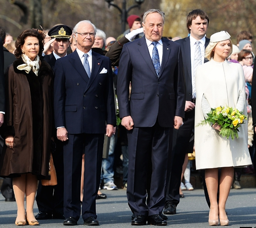 Queen Silvia, March 26, 2014 | The Royal Hats Blog