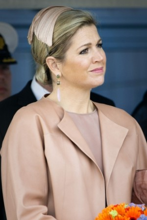 Queen Máxima, April 2, 2014 in Fabienne Delvigne | The Royal Hats Blog