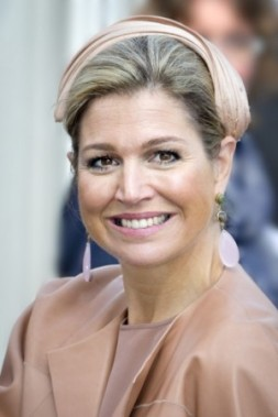 Queen Máxima, April 2, 2014 in Fabienne Delvigne | Royal Hats