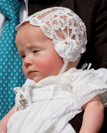 Princess Cecilia of Bourbon-Parma, April 5, 2014 | The Royal Hats Blog