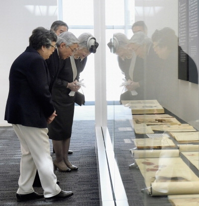 Empress Michiko, April 10, 2014 | The Royal Hats Blog