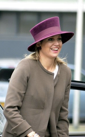 Queen Máxima, April 15, 2014 | The Royal Hats Blog