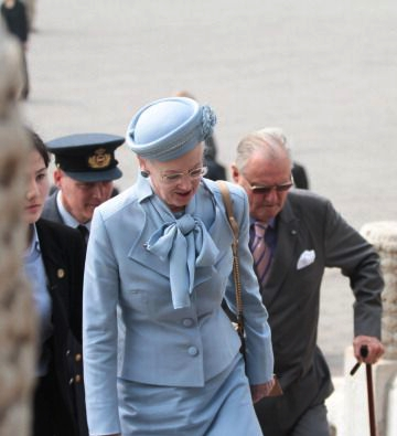 Queen Margrethe, April 25, 2014 | The Royal Hats Blog