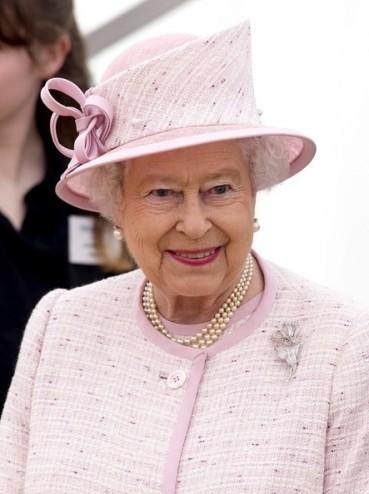 Queen Elizabeth, April 30, 2014 in Angela Kelly | Royal Hats