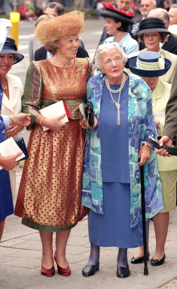 Queen Beatrix and Princess Juliana, May 30, 1989 | Royal Hats