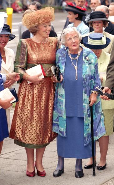 Queen Beatrix and Princess Juliana, May 30, 1989 | Royal Hats