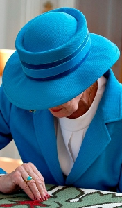 Queen Margrethe, September 2, 2013 | Royal Hats